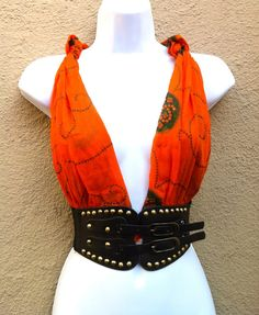 Burningman outfit Burningman clothing burning man outfit   burning man clothing  Hand Made burning man boho wrap top. $25.00, via Etsy. This is solo freaking awesome