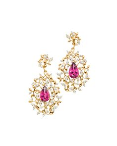 Paloma Picasso Olive Leaf Earrings
