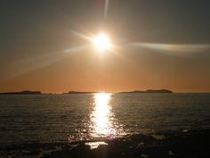 Sunset from Sant Antoni de Portmany, Ibiza, Spain