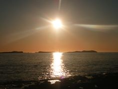 Sunset from Sant Antoni de Portmany, Ibiza, Spain