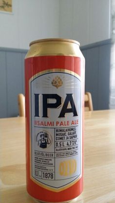 """""""Iisalmi Pale Ale"""", which I highly recommend for IPA-lovers if you visit Finland!"""