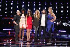 "The Voice - Season 6 -- ""Playoffs"" Team Shakira --"