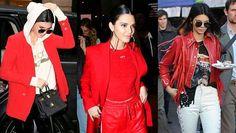 Näin kesytät punaisen – kopioi helpot ideat Kendall Jennerin trendiasuista - MyStyle - Ilta-Sanomat