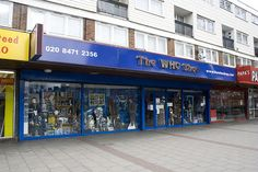 The Who Shop in East London