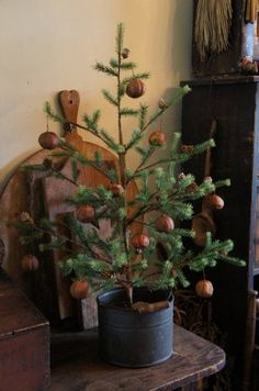 So cute | Primitive/Colonial Christmas | Pinterest