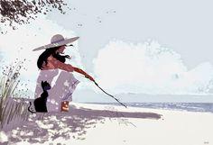 #Emozioni in un #disegno #PascalCampion #illustrations #illustrazioni #luce #semplicita #felicita Per saperne di più venite su #GlobArts: http://glob-arts.blogspot.it/2014/07/pascal-campion-illustratore-emozioni-paperman-shorfilm-disney.html #Chenepensate?
