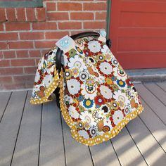 Car Seat Cover/ Car Seat Canopy by KallyKreations on Etsy