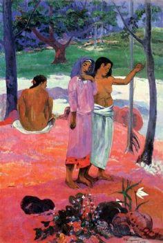'The Call' Paul Gauguin. 1902
