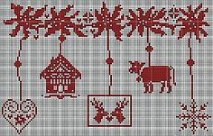 Bavarian cross stitch.  Repinned by www.mygrowingtraditions.com