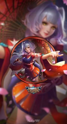 Wallpaper Phone Kagura Cherry Witch by FachriFHR on DeviantArt Wallpaper Wa, Mobile Legend Wallpaper, Mobiles, Bruno Mobile Legends, Alucard Mobile Legends, Moba Legends, Android Mobile Games, The Legend Of Heroes, Wall Paper Phone