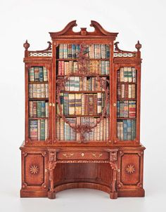 miniature dollhouse furniture woodworking. good sam showcase of miniatures wow library cabinet 112 scale miniature dollhouse furniture woodworking e