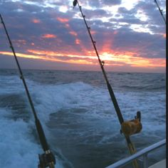 Fishing on the Gulf of Mexico off the shore of Destin Florida