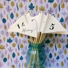 Our table numbers