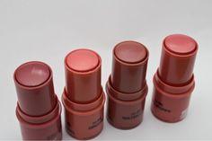 #NYX #Cosmetics #Stick #Blush #Tea Rose, #Orchid, #WaterLily, #PinkPoppy