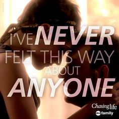 """""""April and Leo ❤️ Chasing Life Leo, Chasing Quotes, Family Show, Abc Family, Tv Quotes, Life Quotes, Leo Love, I Series, Tv Couples"""