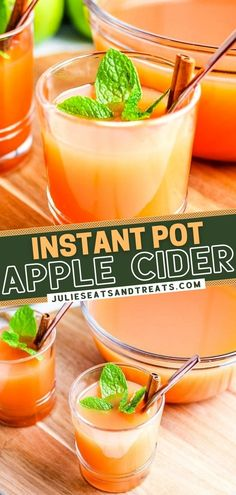 Your holiday parties call for a batch of Homemade Apple Cider! Once you have learned how to make this Instant Pot recipe from scratch, you can adjust the ingredients and spices according to your tastes. Check out how you can spike this easy Christmas drink! Save this pin!