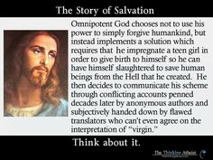 bible is nonsense | Salvation story from The Thinking Athiest