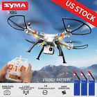 "﹩95.99. Syma X8G 2.4Ghz 4CH 6-Axis Gyro 8MP HD Camera RC Quadcopter Drone GoPro Style   Required Assembly - Ready to Go/RTR/RTF (All included), Color - Silver, Product Size - 50 x 50 x 19cm/20""x20""x7.6"", Blades Diameter - 23cm/9"", Battery - 7.4V/2000mAh, Size memory card - 4G, Remote Control - 2.4 G control, Flying Time - 7-10 Minutes, Distance - 100 Meters, Special function - 360 degrees and 3 D, ControlChannels - 4 Channels, Fuel Type - Electric, Material - Plas"
