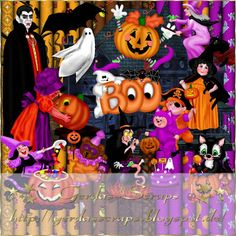 Gerdas Scrap's: Halloween-Scrap-2013