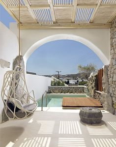 Dreamy! Kensho Boutique Hotel and Suites, Ornos – Mykonos. Greece