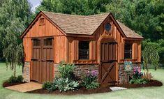 Rustic Garden Sheds | Rustic ShedsThis is a mansion garden shed...ha ha ha
