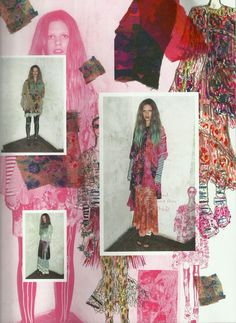 MEADHAM KIRCHOFF X TOPSHOP when i present my sewing stuff this is a fantastic way to showcase it.