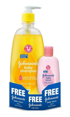 Johnsons Baby Shampoo (475ml) with Free Baby Lotion (100ml) At Rs.226 From Amazon