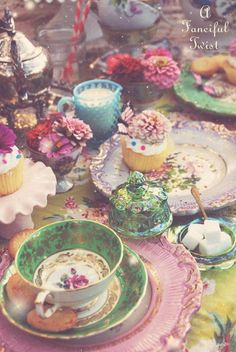 Last year I missed participating in Vanessa Valencia's Mad Tea Party. This year I did. Plan early for 2016!