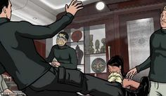 Archer S4E12: Sea Tunt Part I by Will Judy on Blue Blood http://ameliag.com/2013/04/archer-s4e12-sea-tunt-part-i-by-will-judy-on-blue-blood/