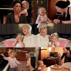 P!nk. &  Willow. Being. Silly ;-$
