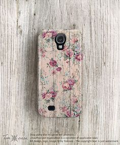 Hey, I found this really awesome Etsy listing at http://www.etsy.com/listing/124477680/floral-samsung-galaxy-s4-case-rose
