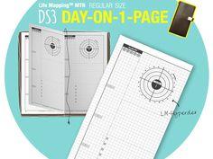 2015 DO1P DS3 with LM-Hyperdex / MTN regular / Midori Traveler's Notebook Printable