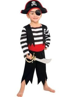 Image result for pirate outfits children  sc 1 st  Pinterest & How to make a PIRATE costume for kids - last minute DIY | Pinterest ...