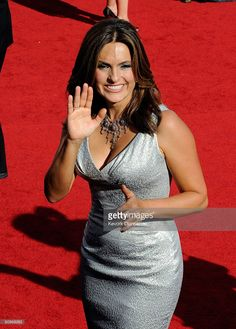 Actress Mariska Hargitay arrives at the 61st Primetime Emmy Awards held at the Nokia Theatre on September 20, 2009 in Los Angeles, California.