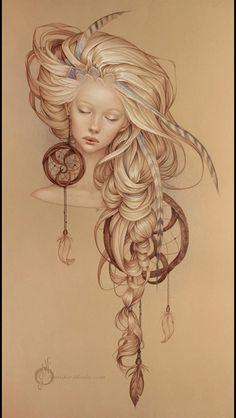 MyAmbeon/ Beautiful Burden Arts #illustrations
