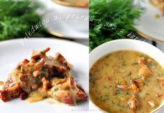 Kuchnia Doroty: Sos z kurek do mięs i makaronów