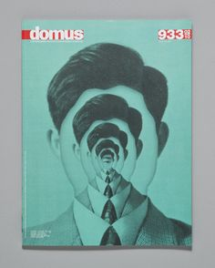 ILL STUDIO, DOMUS COVER: magritte + inception. #ill_studio #cover #domus