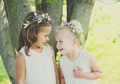 For my flower girls summer wedding | photo by  Kelly Maughan Photography | 100 Layer Cake
