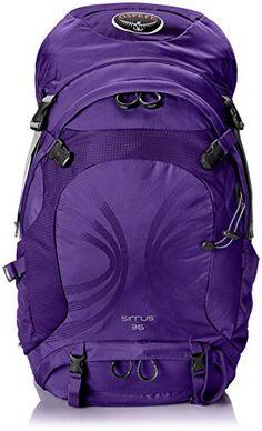 Osprey Packs Women's Sirrus 36 Backpack, Purple Orchid, Small/Medium