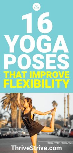 Yoga Poses & Workout : Some yoga poses are great for relaxing you, others are good for improving your flexibility. Here are 16 yoga poses that are going to improve your flexibility. Begginers Yoga, Yoga Poses For Men, Different Types Of Yoga, Yoga For Flexibility, Improve Mental Health, Restorative Yoga, Ashtanga Yoga, Yoga For Weight Loss, Yoga Routine