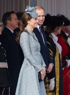 In October 2014, Will showed Kate lots of love during her first appearance after announcing her second pregnancy in London.