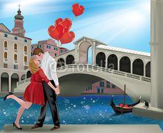 Saint Valentine in Venice, crazycolors © Fotolia
