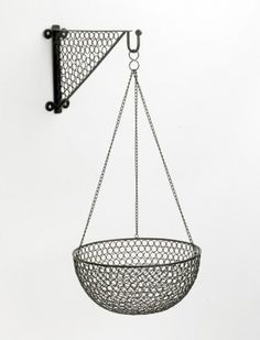 """""""Columbus"""" Contemporary wire work hanging basket - Hanging Baskets - Garden & Outdoor Living - Catalogue 