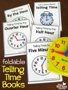 Working on telling time with your learners? Then, you'll love these printable telling time books. They're low prep and PACKED with information about telling time! *This post contains affiliate links. **The free printable telling time books download is at the END of this post. Click on the teal download button. Learning to Use an Analogue …