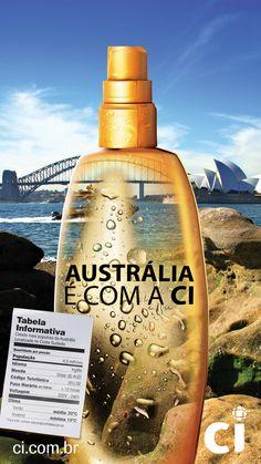 Austrália é com a CI