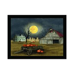 Enhance your home wall decor with the Timeless by Design Lighted Harvest Moon Canvas. Crafted from canvas, this wonderful moon art becomes a perfect room décor. Canvas Display, Canvas Wall Decor, Home Wall Decor, Old Wagons, Autumn Decorating, Harvest Moon, Moon Art, Fall Halloween, Decor Ideas