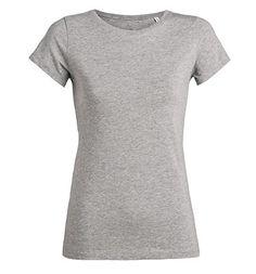 1cd796e8e0bb32 Stella Wants - Modernes Shirt mit Rundhalsausschnitt - grau