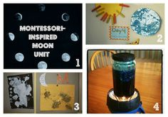 International Observe the Moon Night (LOTS of activities for a moon unit) from Crayon Freckles