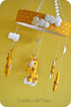 Felt  Móbile Girafas