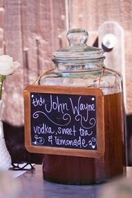 Western Party signature drinks